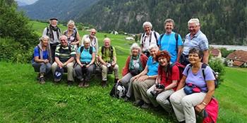 EGZ-Exkursion, Tschlin (GR), 08.-10.07.2016